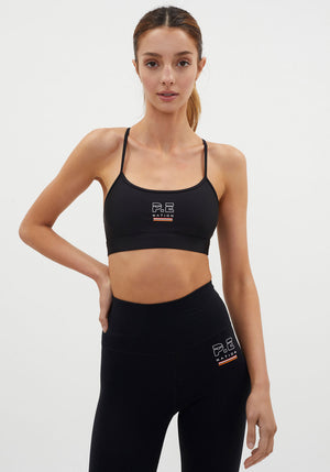 Training Day Sports Bra Black