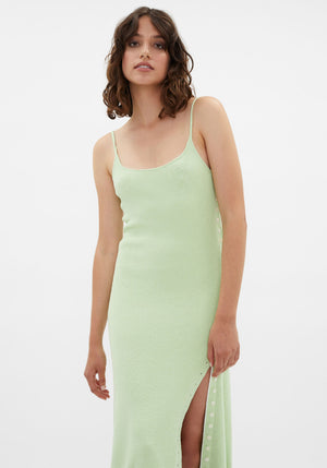 Boucle Cami Dress Pistachio