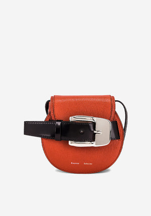 Buckle Mini Crossbody Bag Cedar
