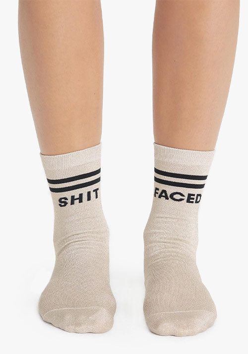 Tiny Dancer Socks Gold/Black