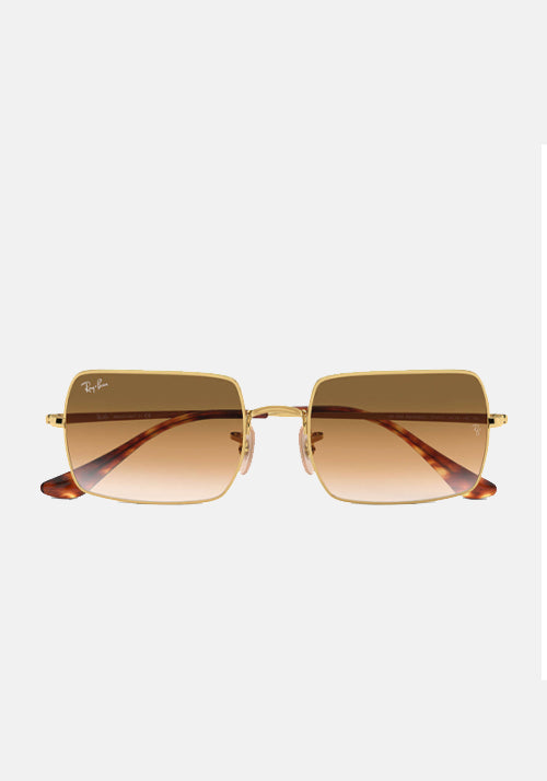 Rectangle 1969 Sunglasses Light Brown