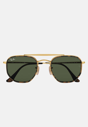 The Marshall II Sunglasses Gold/Green