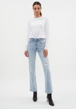 70's Bootcut Jeans Light Worn 7