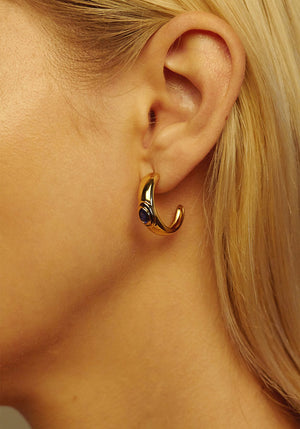 Curio Earrings Gold
