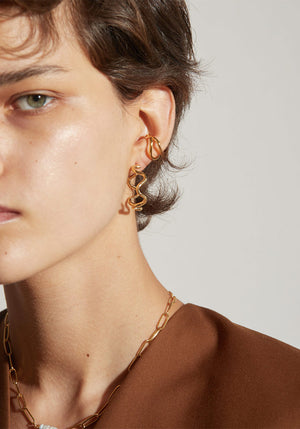 Marais Earrings Gold
