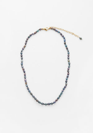 Nima Necklace Black