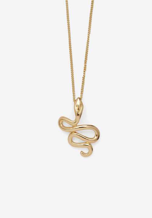 Portia Necklace Gold