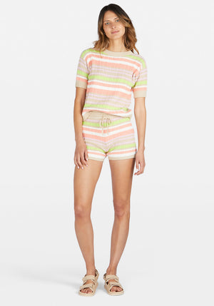 Exclusive | Belen Short Stripe