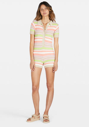 Exclusive | Ryder Knit Romper Stripe