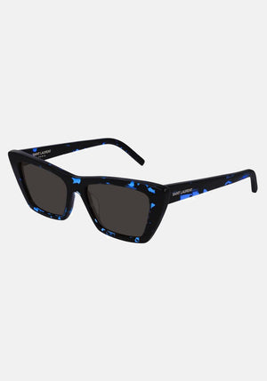 Mica Sunglasses Black/Blue