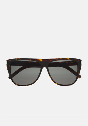 New Wave Slim Sunglasses Havana