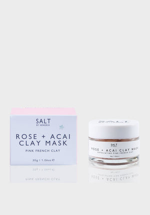 Rose + Acai Exfoliating Face Mask