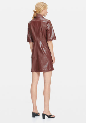 Myla Dress Chocolate
