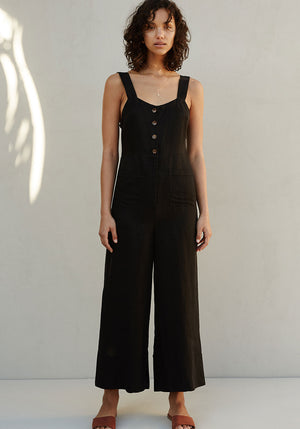 The Florence Jumpsuit Noir