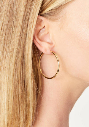 Senorita 35 Hoops Gold