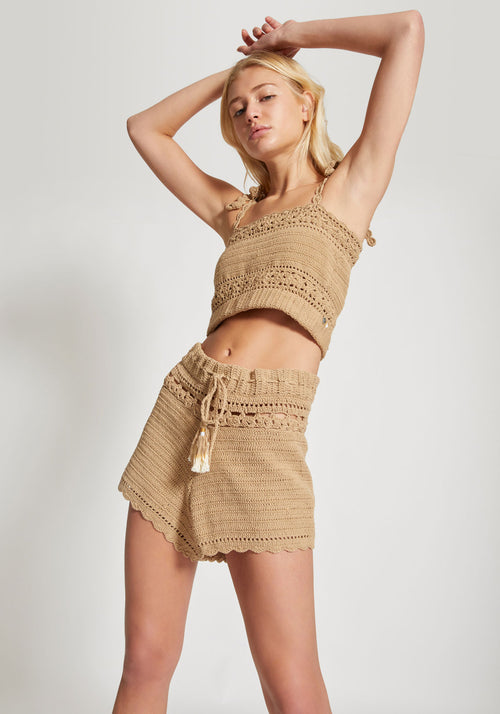 Ila Cami Top Sand - She Made Me - Tuchuzy
