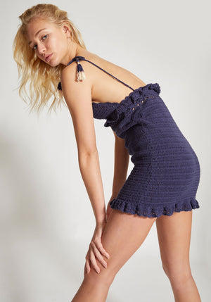 Ila Mini Dress Navy