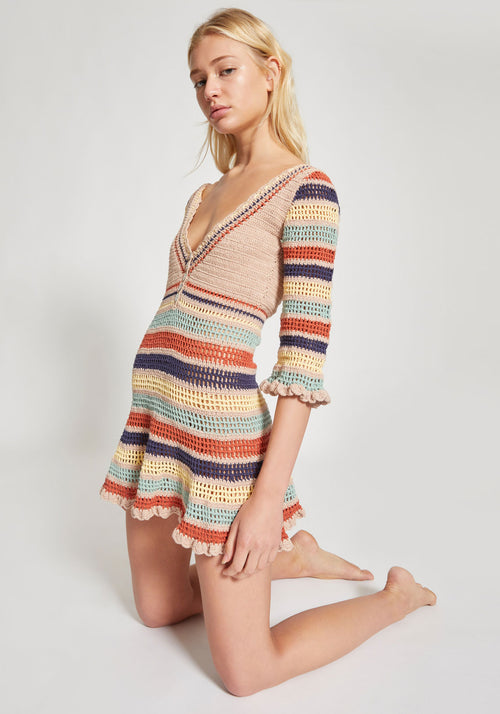 Neha Mini Dress Stripe