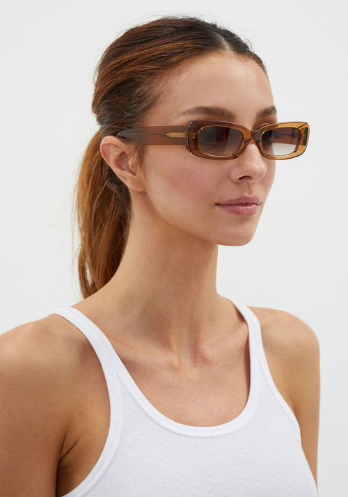 Norm Sunglasses Crystal Brown
