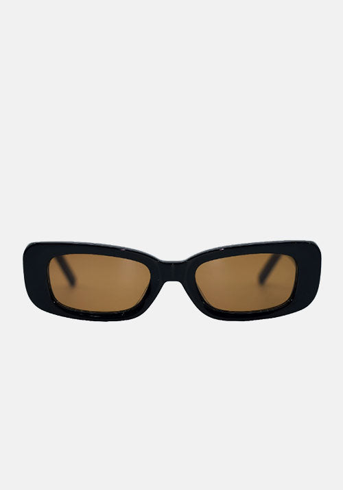 Norm Sunglasses Black/Brown