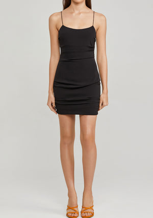 Mateau Dress Black