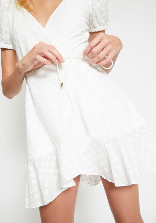 Symphony Dress White