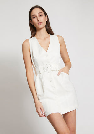 Laney Dress Ivory