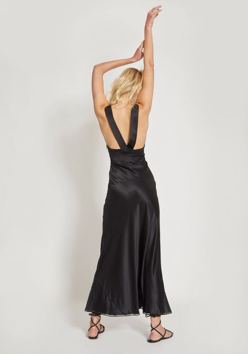 Aries Cut Out Dress Black