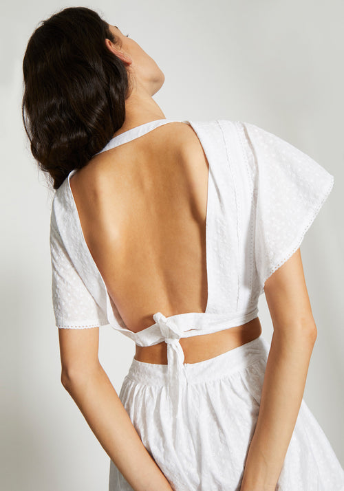 Charlee Open Back Top