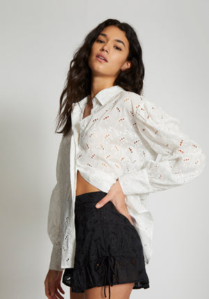 Elodie Shirt White