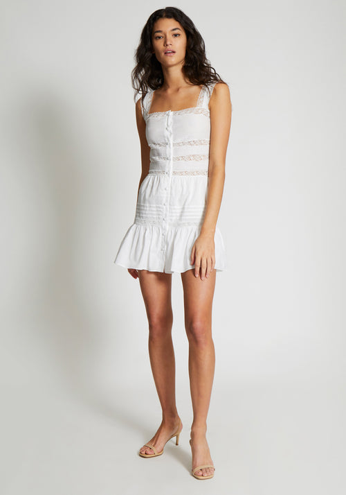 Maci Mini Dress White