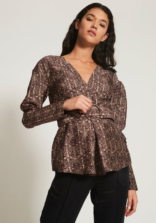 Siena Belted Shirt