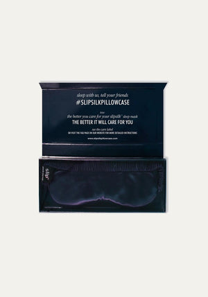 Pure Silk Sleep Mask Navy