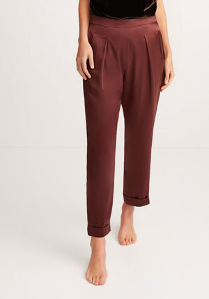 Lenny Pant Chocolate Brown