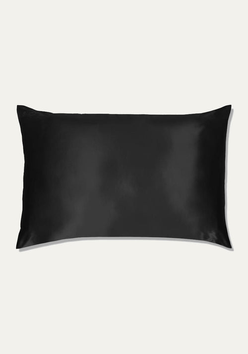Silk Pillow Case Black