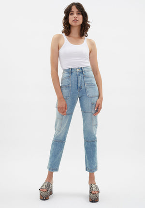Australian Exclusive | Saviour Cargo Jeans Salt Flats