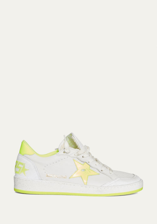 SNEAKER BALL STAR WHT/LEMON
