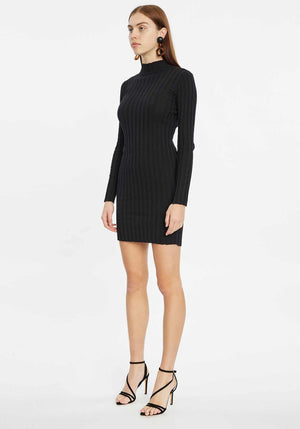 Spears Collared Long Sleeve Dress