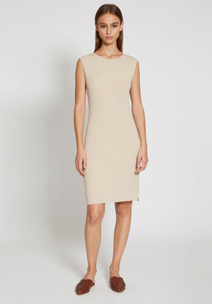 Gia Knit Dress Sand