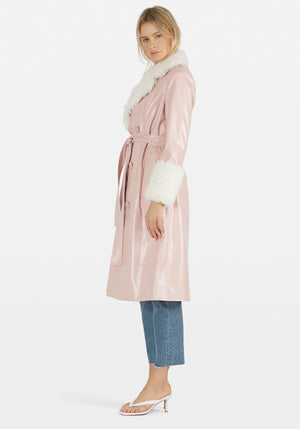 Genesis Coat Dusty Rose