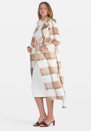 Juliet Check Coat