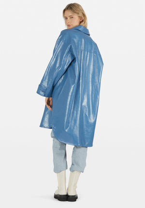 Kali Coat Mid Blue