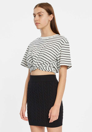 Stripe Twist Tee