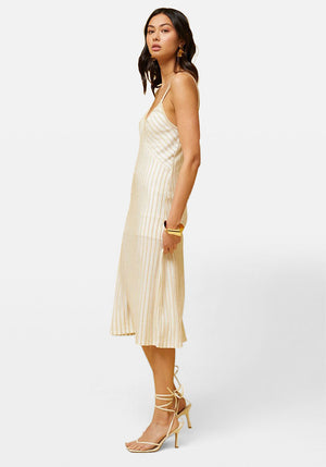 Adele Stripe Slip Dress