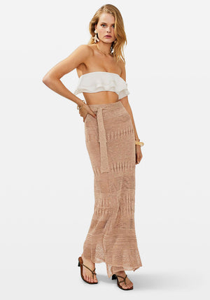 Harper Knit Wrap Skirt Multi