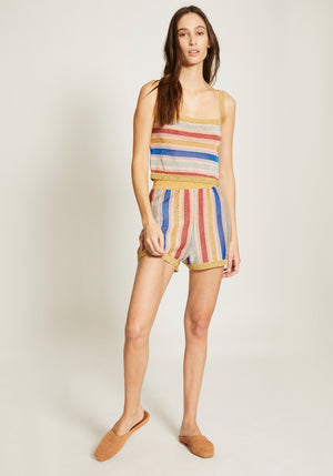 Mila Stripe Shorts Multi