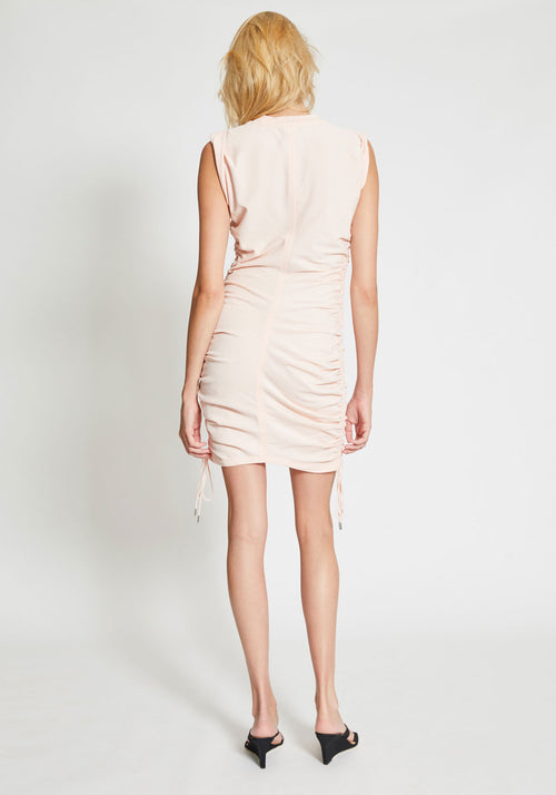 Wash + Go Side Tie Dress Pink