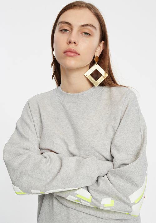 Terry Crewneck Sweater