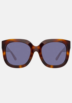 The Attico Zoe Oversized Sunglasses Tortoiseshell