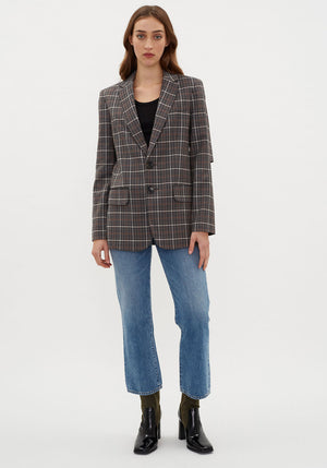 Gabe Menswear Suiting Blazer Grey Multi